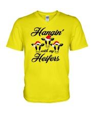 For Cow Lovers V-Neck T-Shirt thumbnail