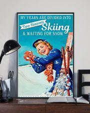 Skiing Season  11x17 Poster lifestyle-poster-2