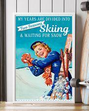 Skiing Season  11x17 Poster lifestyle-poster-4