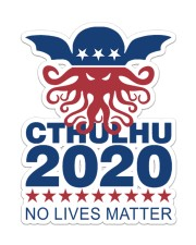Cthulhu  Sticker - Single (Vertical) front