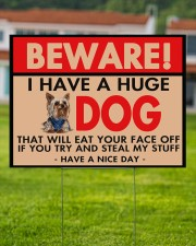 I Have A Huge Yorkie 24x18 Yard Sign aos-yard-sign-24x18-lifestyle-front-02