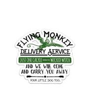 Flying Monkey  Sticker - Single (Horizontal) front