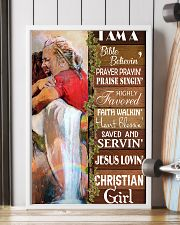 I Am A Christian Girl  11x17 Poster lifestyle-poster-4