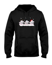 For Elephant Lovers Hooded Sweatshirt front
