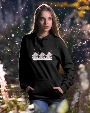 For Elephant Lovers Hooded Sweatshirt lifestyle-holiday-hoodie-front-5