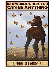 Horse Be Kind  11x17 Poster front