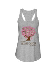 Support Breast Cancer Awareness Ladies Flowy Tank thumbnail