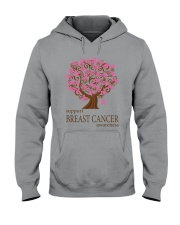 Support Breast Cancer Awareness Hooded Sweatshirt thumbnail