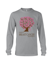 Support Breast Cancer Awareness Long Sleeve Tee thumbnail