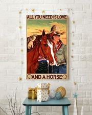 All You Need Is Love And A Horse 11x17 Poster lifestyle-holiday-poster-3