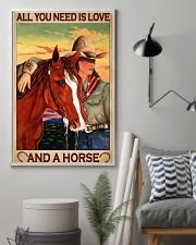 All You Need Is Love And A Horse 11x17 Poster lifestyle-poster-1