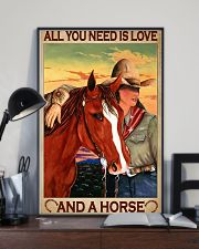 All You Need Is Love And A Horse 11x17 Poster lifestyle-poster-2