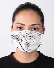 Autism Dandelion Cloth face mask aos-face-mask-lifestyle-01