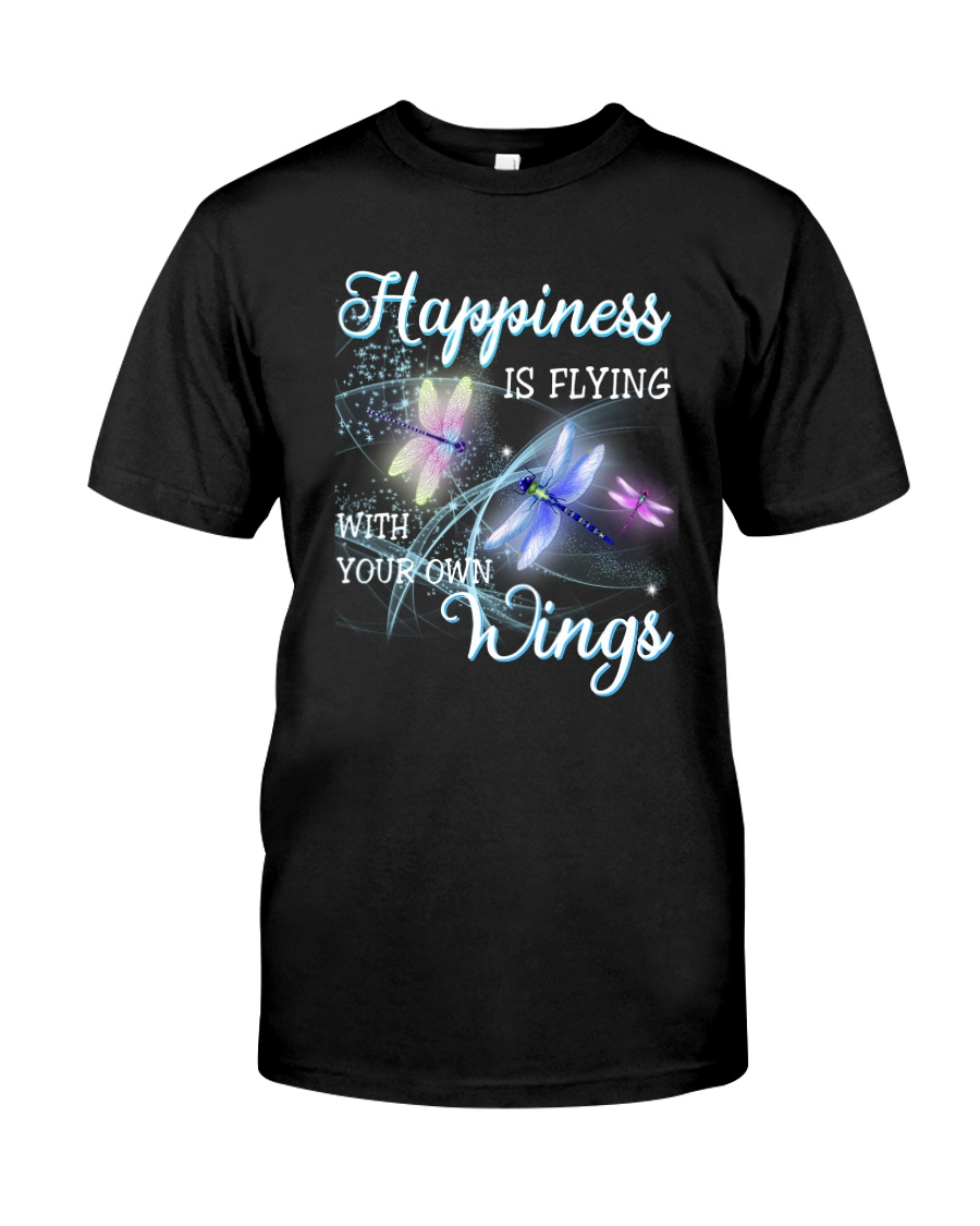 Happiness Is Flying With Your Own Wings Classic T-Shirt
