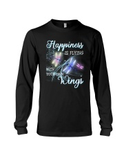 Happiness Is Flying With Your Own Wings Long Sleeve Tee thumbnail