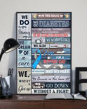 In This Diabetes House 11x17 Poster lifestyle-poster-2
