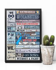 In This Diabetes House 11x17 Poster lifestyle-poster-8