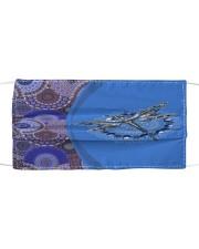 Dragonfly Mandala Cloth face mask front