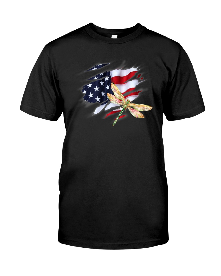 Dragonfly Flag Classic T-Shirt