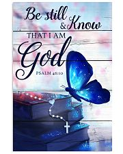 Be Still And Know That I Am God Poster 11x17 Poster front