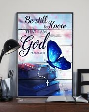 Be Still And Know That I Am God Poster 11x17 Poster lifestyle-poster-2