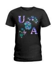 Butterfly USA Ladies T-Shirt thumbnail