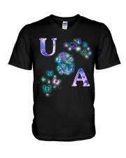 Butterfly USA V-Neck T-Shirt thumbnail