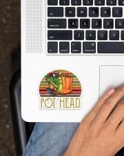Pothead  Sticker - Single (Horizontal) aos-sticker-single-horizontal-lifestyle-front-11