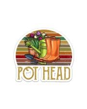 Pothead  Sticker - Single (Horizontal) front