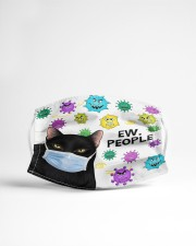 Black Cat Ew People Cloth face mask aos-face-mask-lifestyle-22
