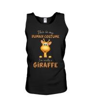 I'm Really A Giraffe Unisex Tank thumbnail