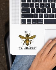Bee Yourself  Sticker - Single (Vertical) aos-sticker-single-vertical-lifestyle-front-11