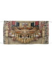 Native Owl Cloth face mask front