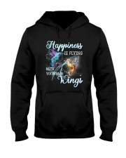 Happiness Is Flying With Your Own Wings Hooded Sweatshirt thumbnail