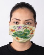 For Turtle Lovers Cloth face mask aos-face-mask-lifestyle-01