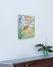 Advice From A Honey Bee 11x14 Gallery Wrapped Canvas Prints aos-canvas-pgw-11x14-lifestyle-front-01