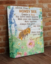 Advice From A Honey Bee 11x14 Gallery Wrapped Canvas Prints aos-canvas-pgw-11x14-lifestyle-front-09