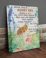 Advice From A Honey Bee 11x14 Gallery Wrapped Canvas Prints aos-canvas-pgw-11x14-lifestyle-front-10