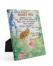 Advice From A Honey Bee 8x10 Easel-Back Gallery Wrapped Canvas thumbnail