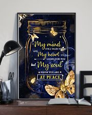 Butterfly My Mind Still Talk To You 11x17 Poster lifestyle-poster-2