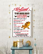 Welcome To My House Rules 11x17 Poster lifestyle-holiday-poster-3