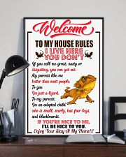 Welcome To My House Rules 11x17 Poster lifestyle-poster-2