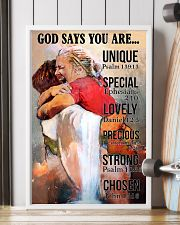 God Says You Are 11x17 Poster lifestyle-poster-4