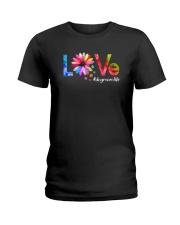 Love Dog Ladies T-Shirt thumbnail