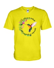 For Hummingbird Lovers V-Neck T-Shirt thumbnail