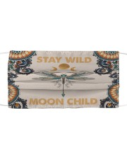 Dragonfly Stay Wild Cloth face mask front