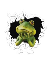 Frog  Sticker - Single (Vertical) front