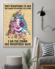 Hippie I Am The Storm 11x17 Poster lifestyle-poster-1