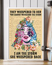 Hippie I Am The Storm 11x17 Poster lifestyle-poster-4