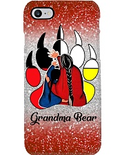 Native Grandma Bear Phone Case i-phone-8-case